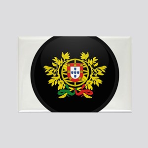 Coat of Arms of Portugal Rectangle Magnet